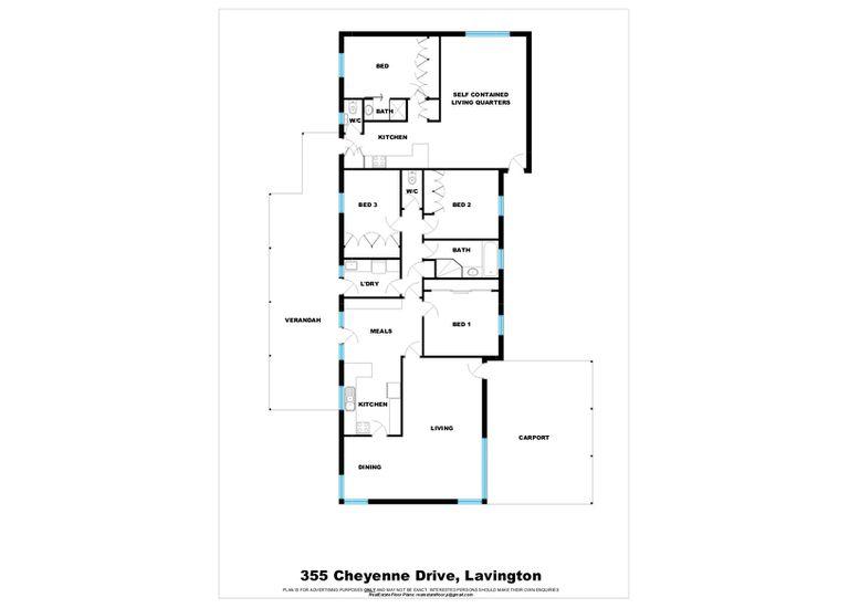 355 Cheyenne Drive, Lavington