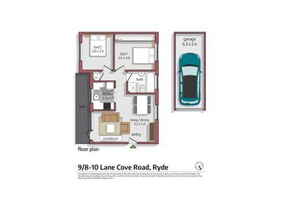 9 / 8-10 Lane Cove Road, Ryde