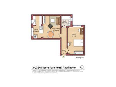34 / 364 Moore Park Road, Paddington