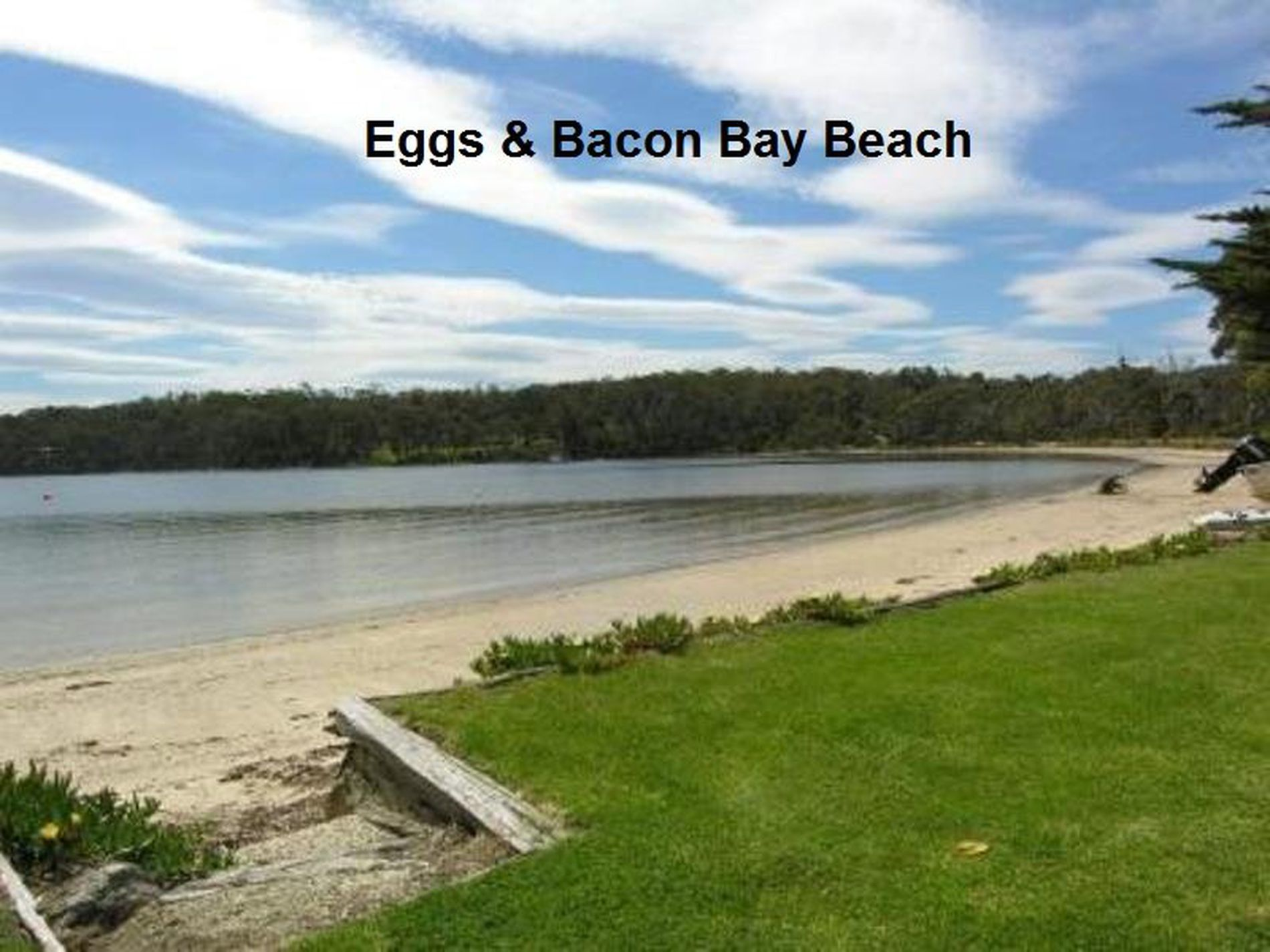 54 Cray Point Parade, Eggs And Bacon Bay
