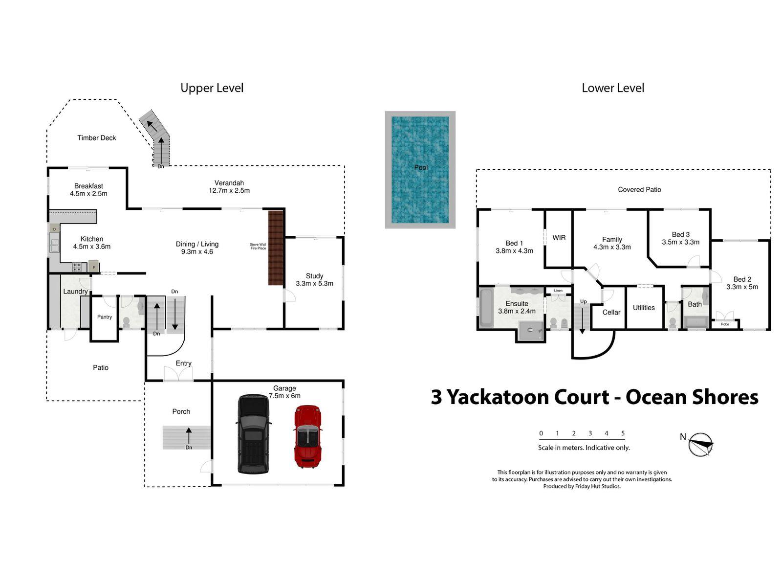 3 Yackatoon Court, Ocean Shores