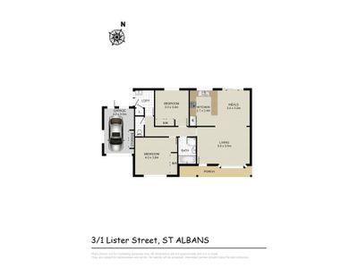 3 / 1 Lister Street, St Albans