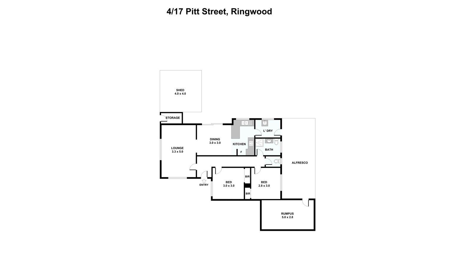 4/17  Pitt Street, Ringwood