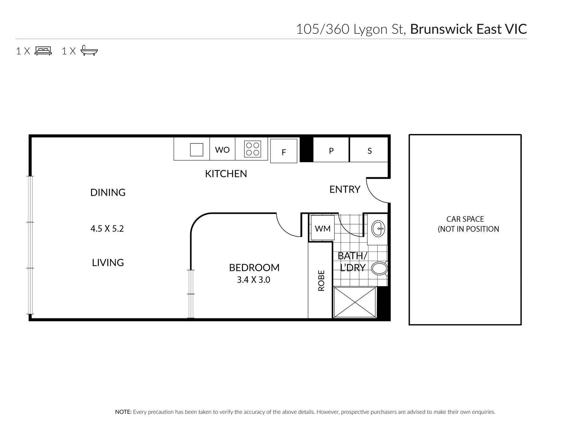 105 / 360 Lygon Street, Brunswick East