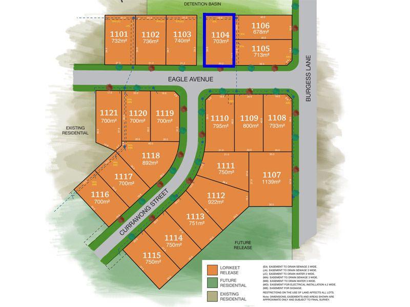 Lot 1104, Eagle Avenue, Tamworth