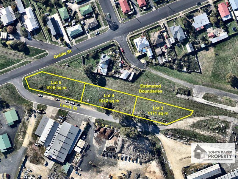 Corner of Goldie Street & Lewis Street, Wynyard