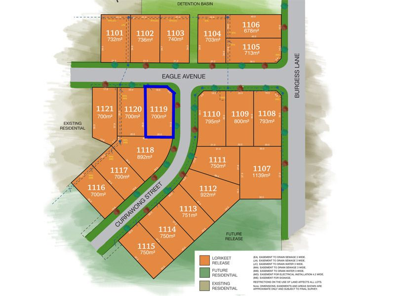 Lot 1119, Eagle Avenue, Tamworth