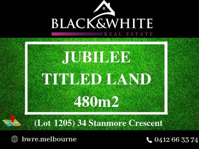 Lot 1205, Stanmore Crescent, Wyndham Vale