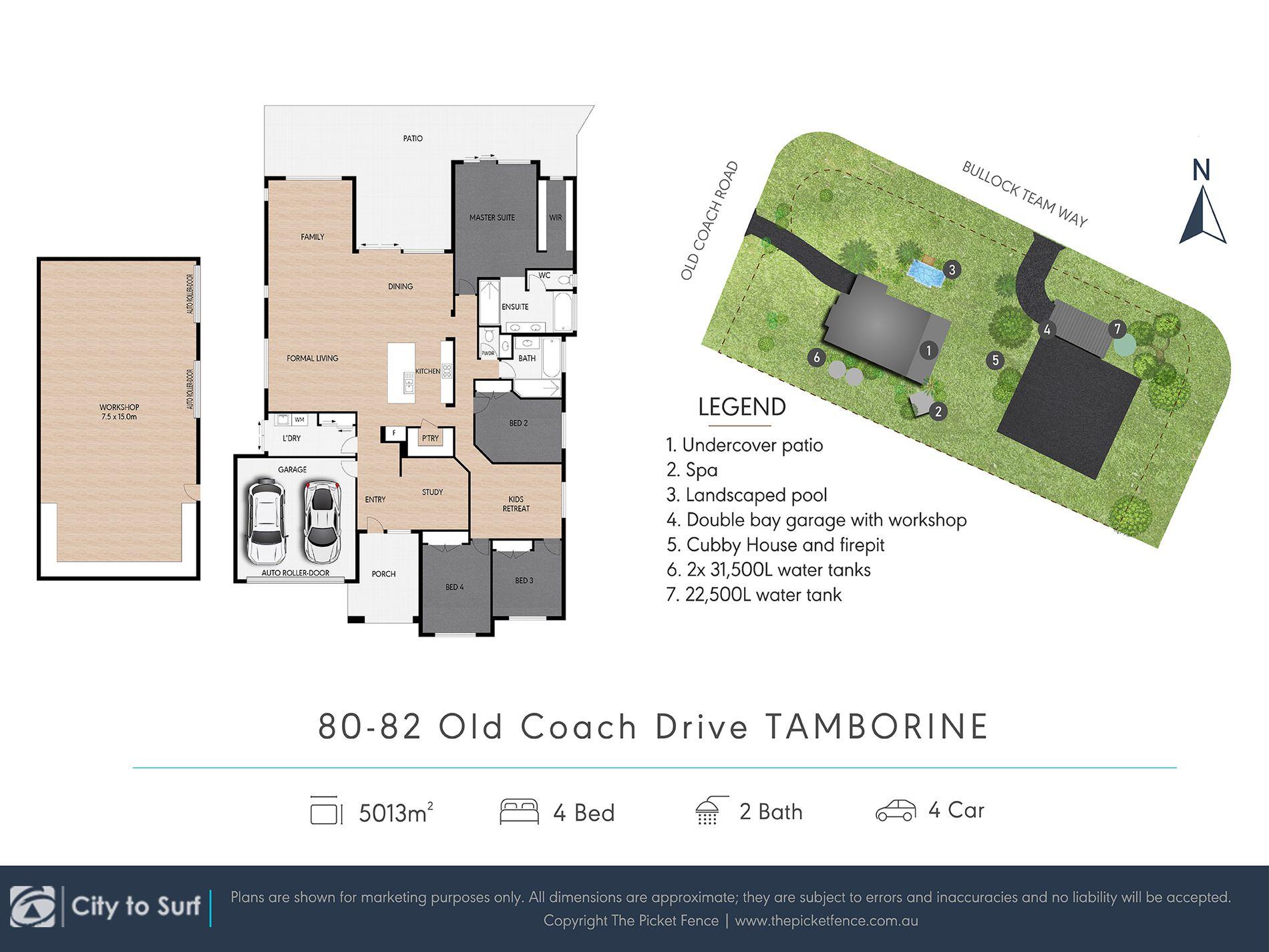 80-82 Old Coach Road , Tamborine Village