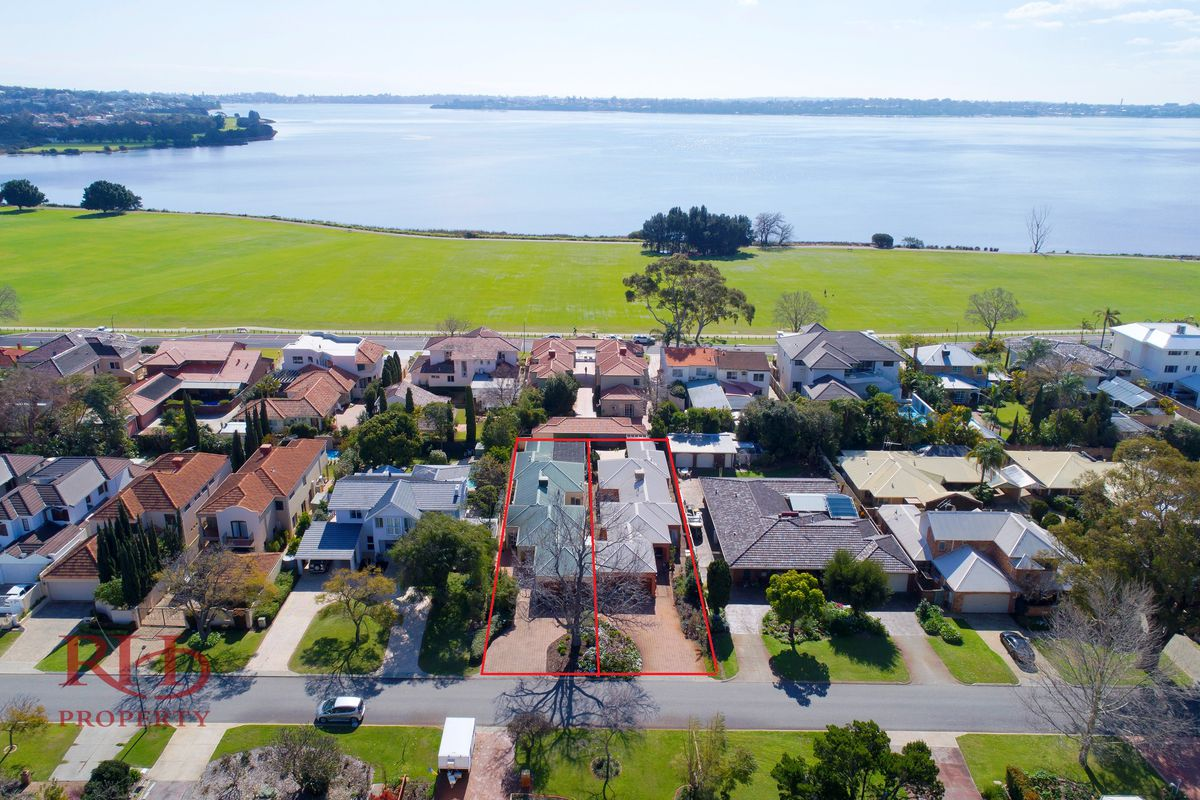 GREAT OPPORTUNITY -CHOICE OF ONE OR TWO ADJACENT SINGLE LEVEL HOMES NEAR THE RIVER