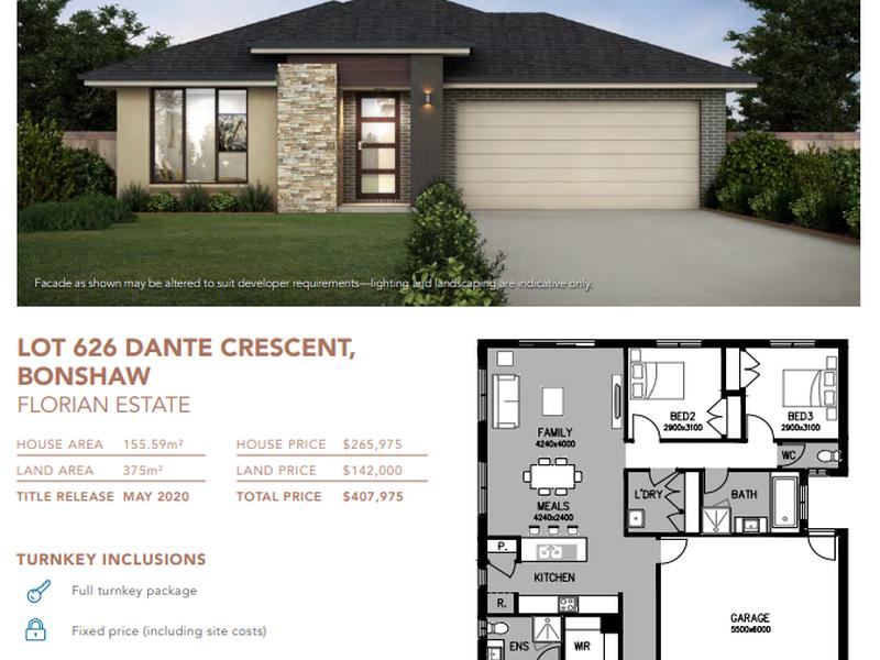 Lot 626 Dante Crescent, Ballarat