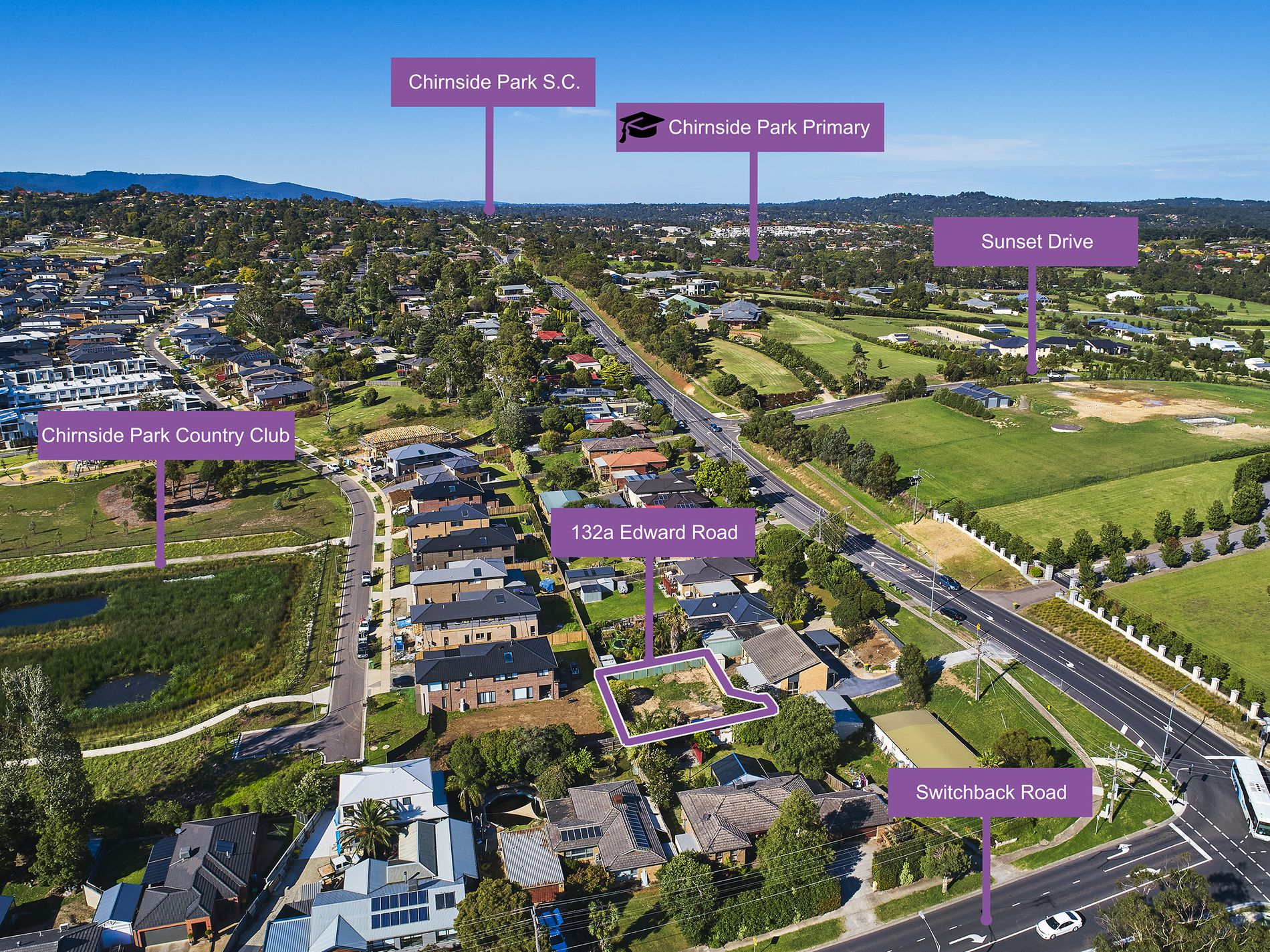 132a Edward Road , Chirnside Park