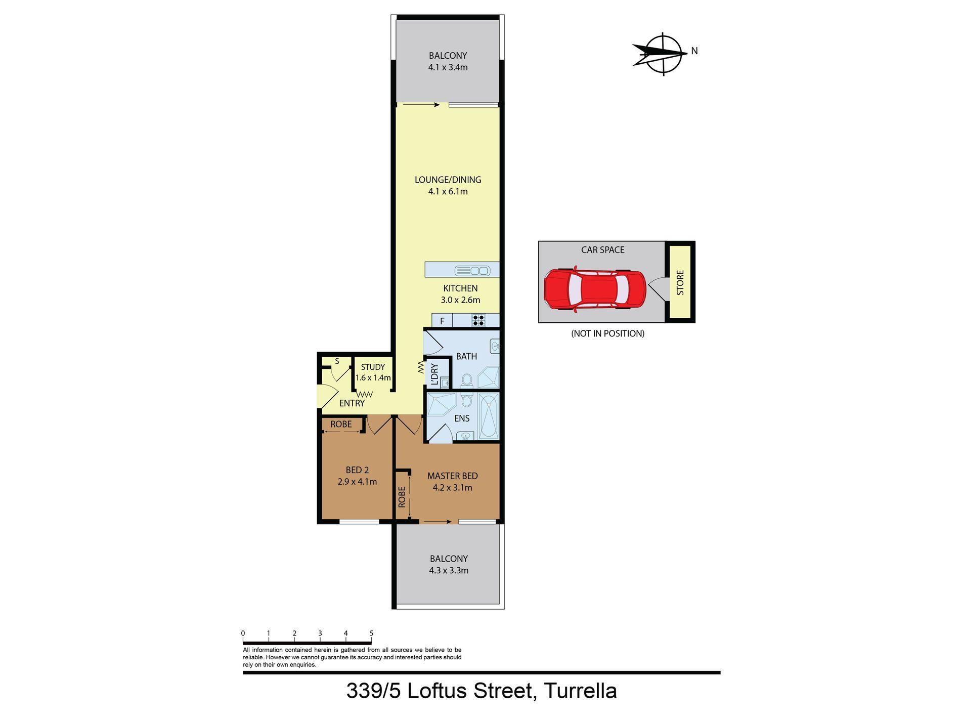 339 / 5 Loftus Street, Arncliffe
