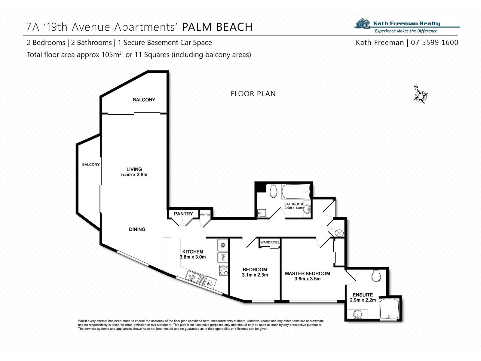 7th FLOOR / 2 19TH AVENUE, Palm Beach
