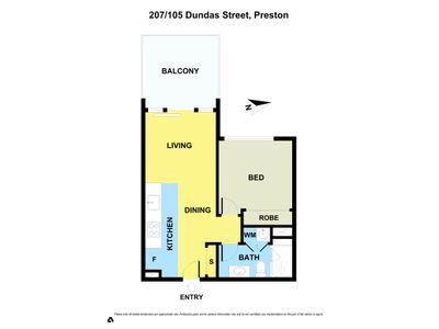 207 / 105 DUNDAS STREET, Preston