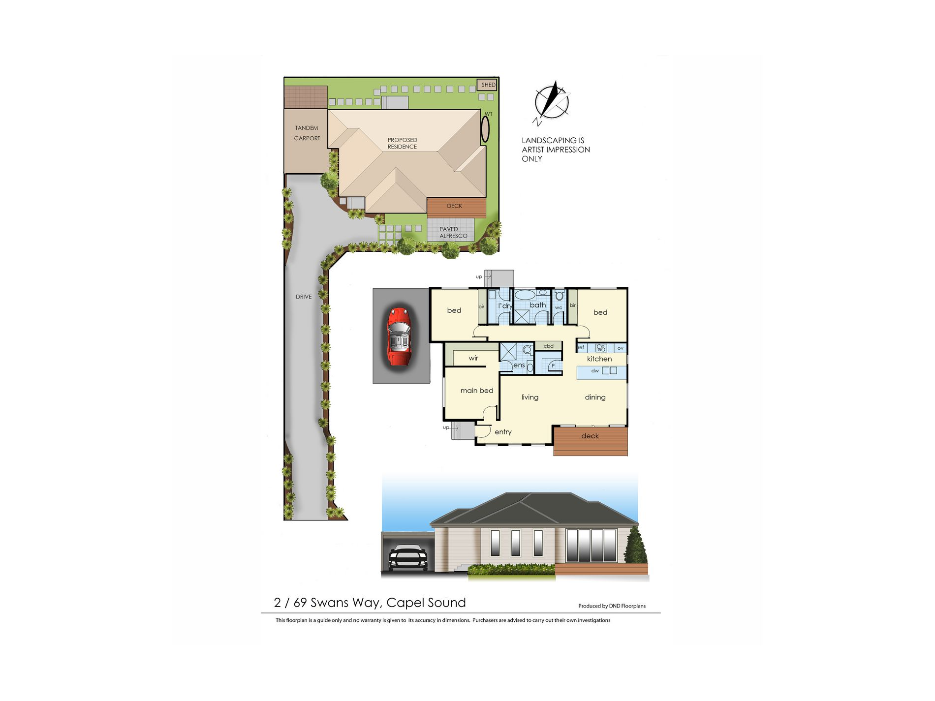 Lot 2, 69 Swans Way, Capel Sound