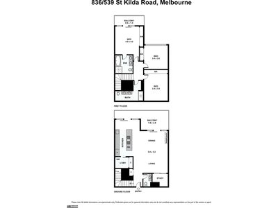 836 / 539 Saint Kilda Road, Melbourne