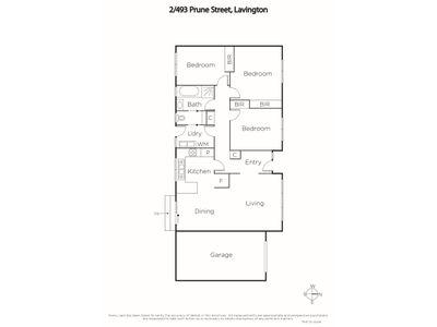 1 & 2 / 493 Prune Street, Lavington