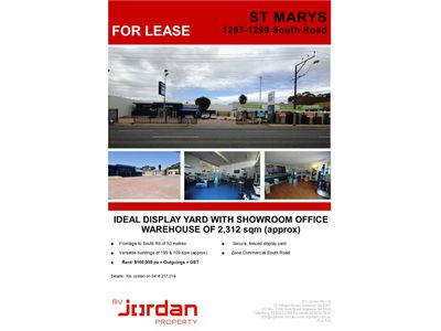 1297-1299 South Road, St Marys