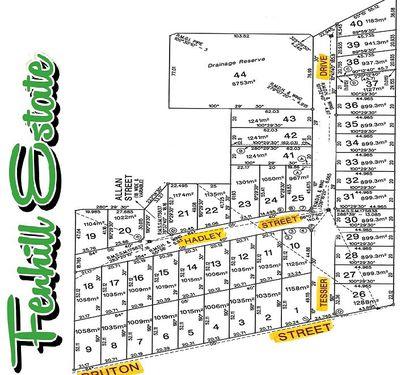 Lots 2,4,5,7 & 8 Bruton Street, Tocumwal