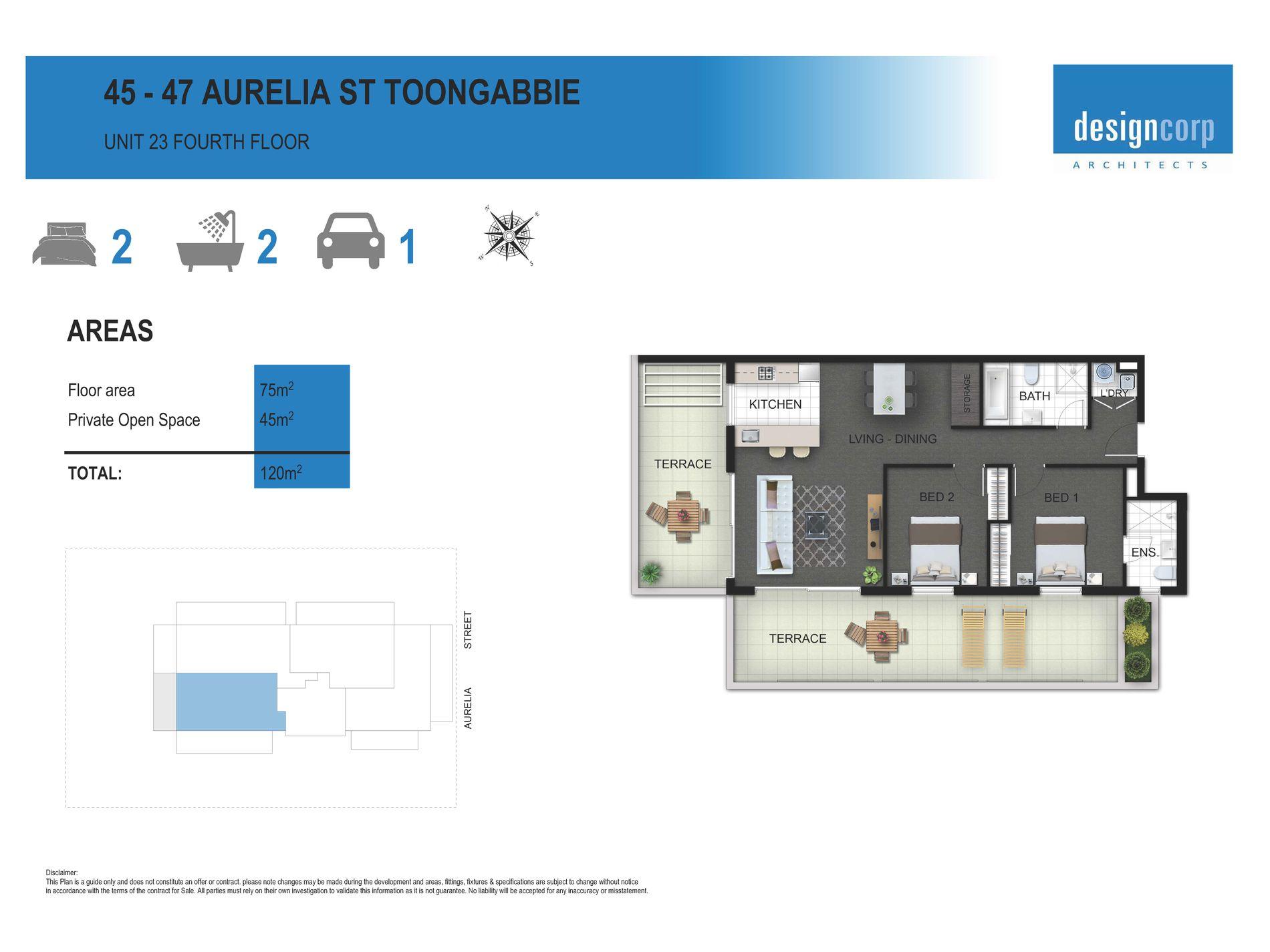 45 - 47  Aurelia Street , Toongabbie
