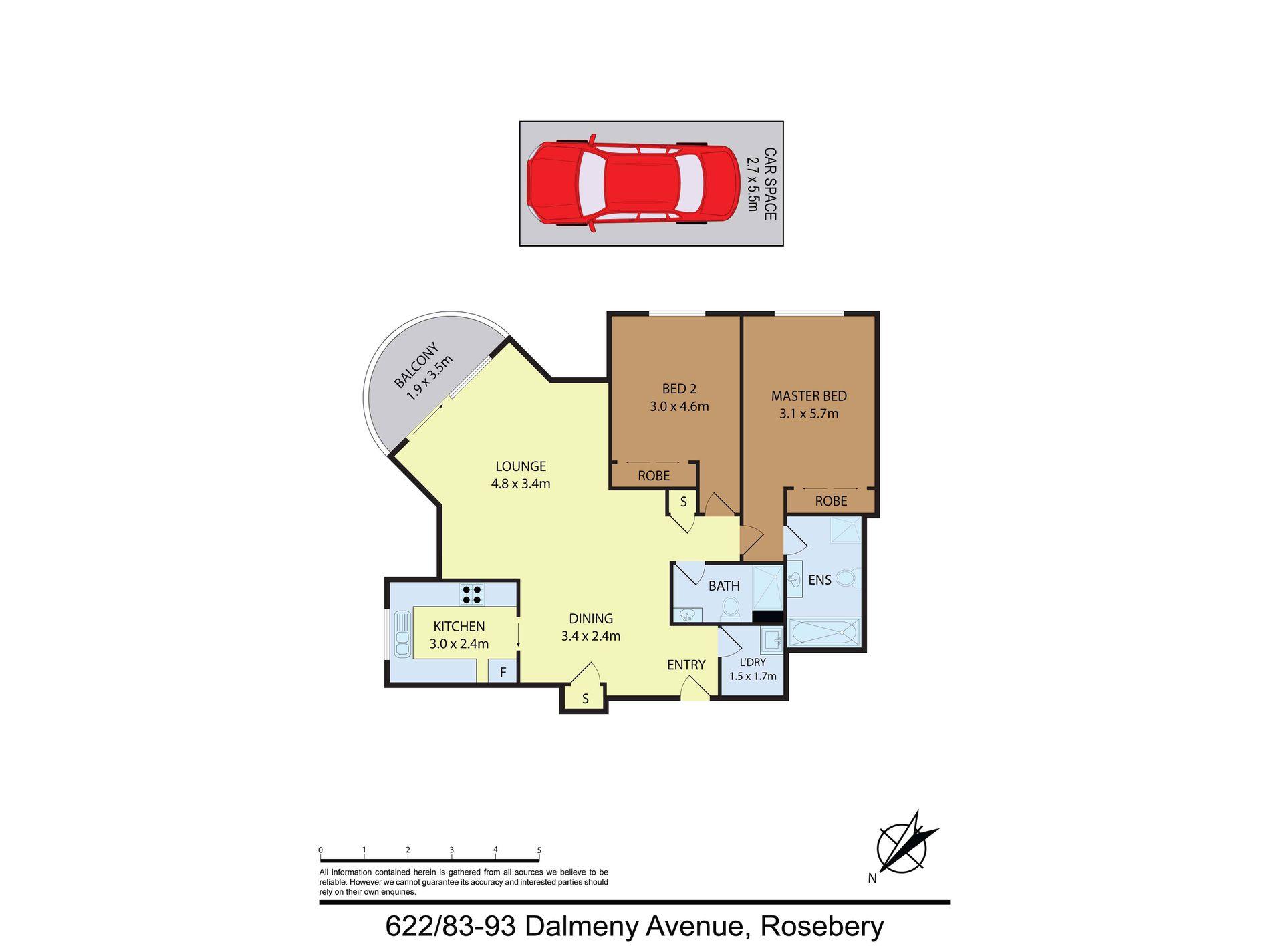 622 / 83-93 Dalmeny Avenue, Rosebery