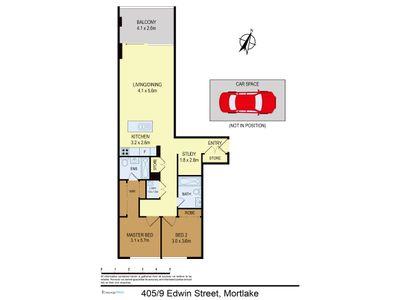 405 / 9 Edwin Street, Mortlake