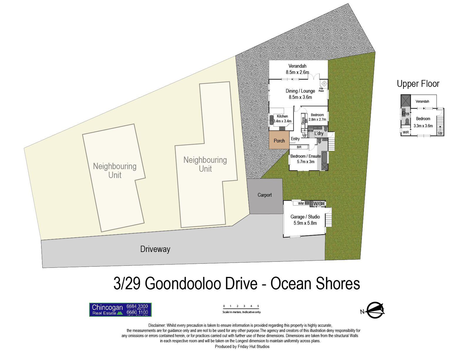 3 / 29 Goondooloo Drive, Ocean Shores