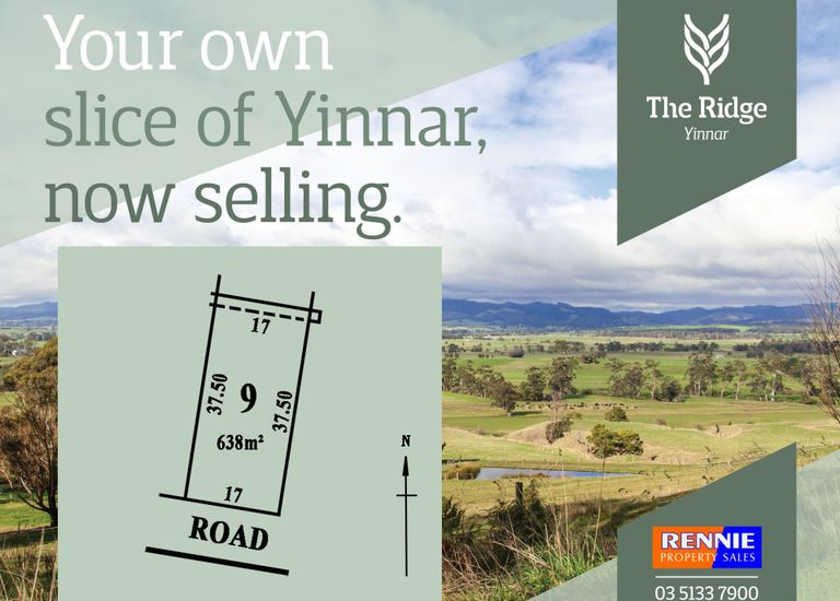 Lot 9, The Ridge Estate, Yinnar