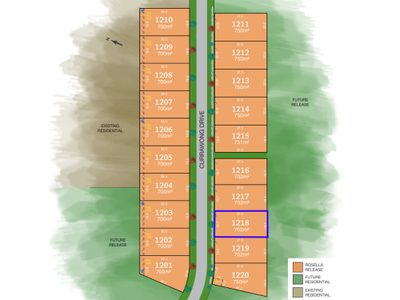 Lot 1218, Currawong Drive, Tamworth